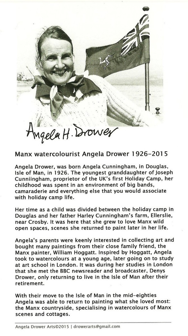 Information about Angela Drower