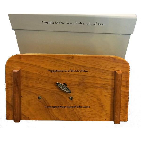Underneath Manx musical box