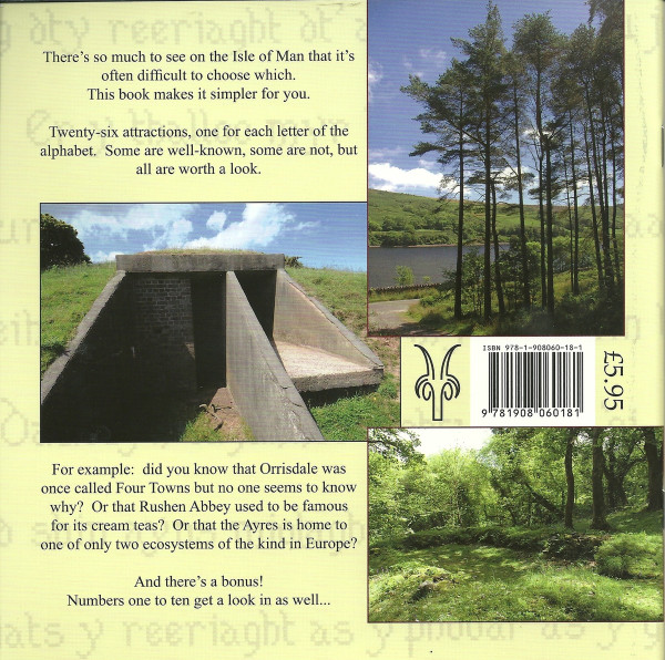 A Manx A-B-C-Dery - back cover