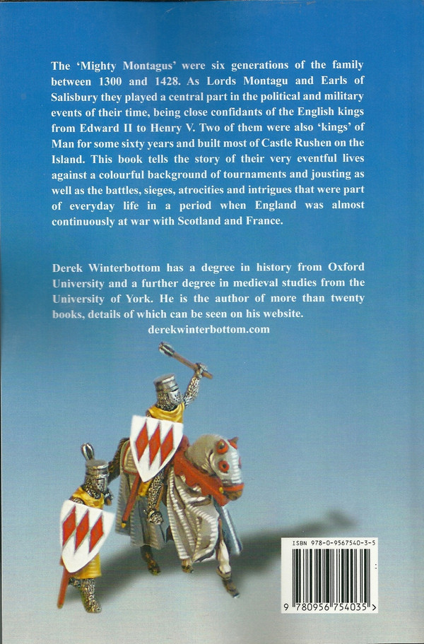 Back cover of The Mighty Montagus by Derek Winterbottom