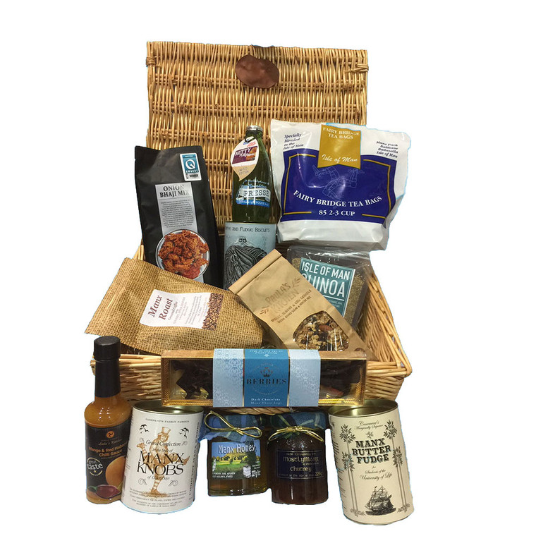 A great selection of food from Manx business's