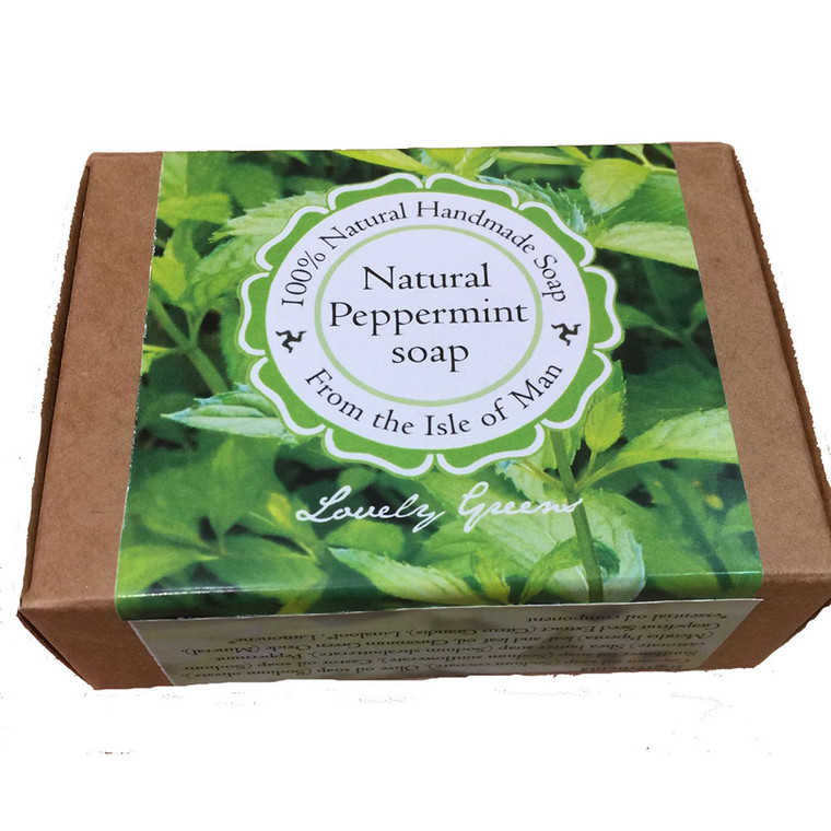 Lovely Greens peppermint soap by Tanya Anderson