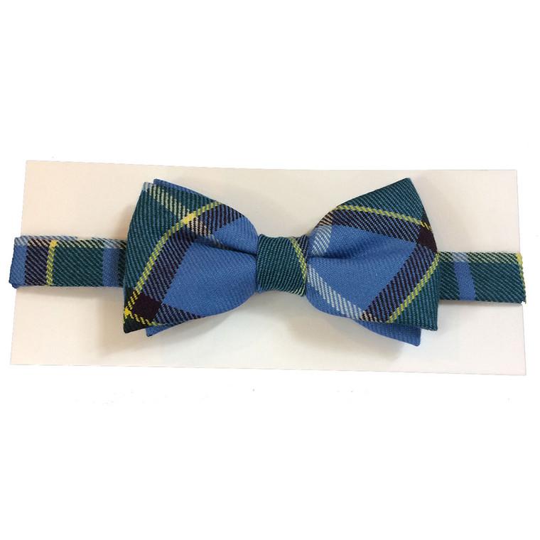 Manx tartan bow tie