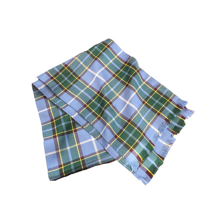 Lightweight Manx tartan scarf