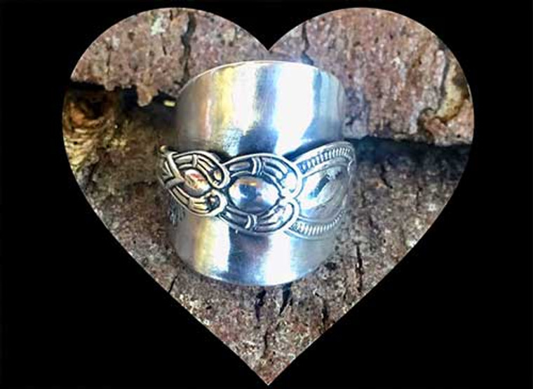 Silver Spoon Rings are available from MostlyManx shop in Nelson Street, Douglas