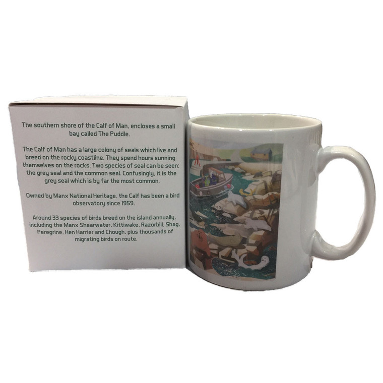 Calf of Man Seals Mug