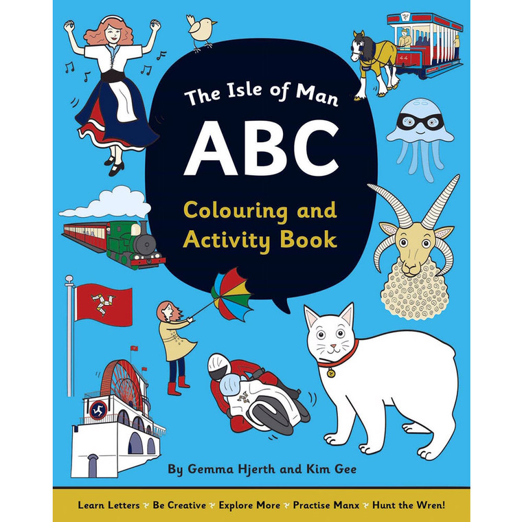 Isle of Man ABC colouring book