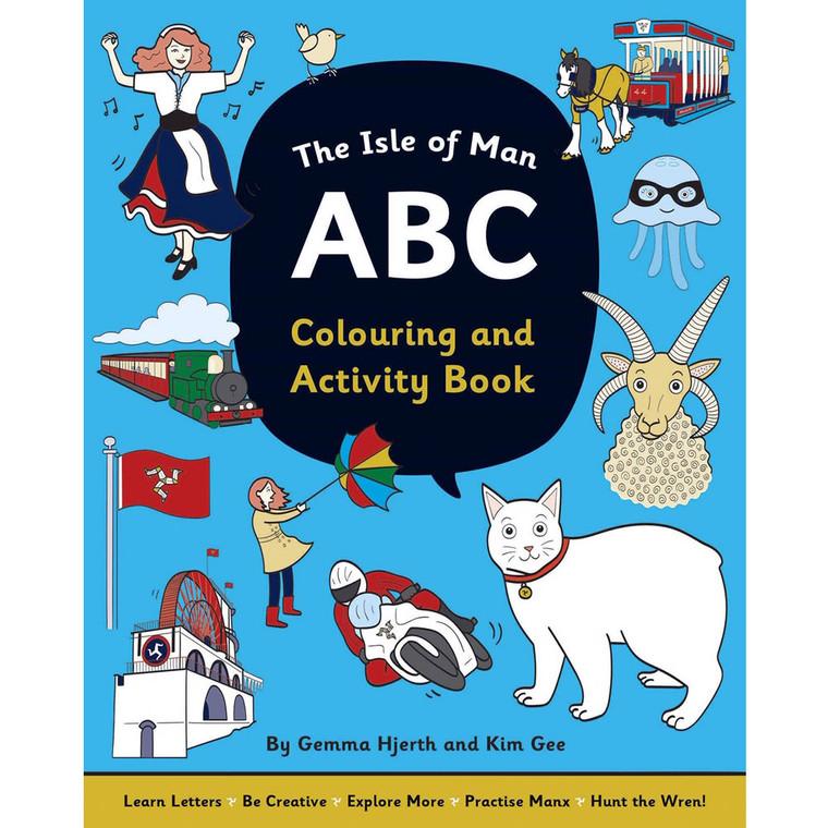 Isle of Man ABC colouring book