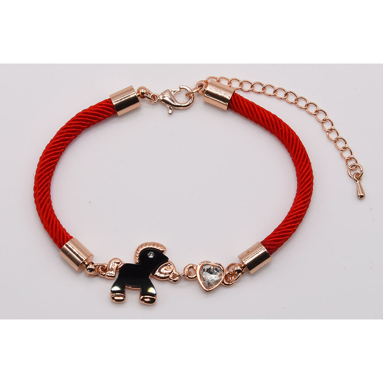 Isle of Man tram horse wristband/bracelet