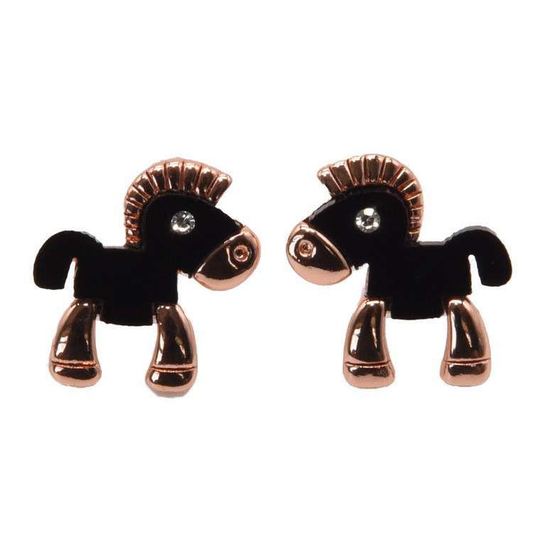 Horse earrings from the Isle of Man