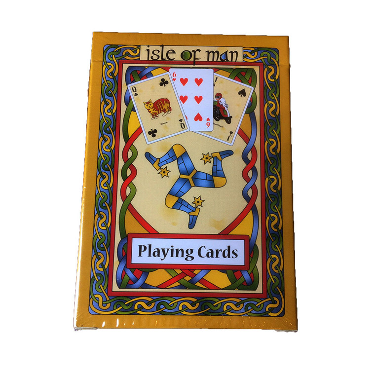 Manx Celtic Playing Cards