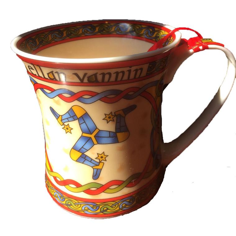 Manx Celtic 3 Leg Mug
