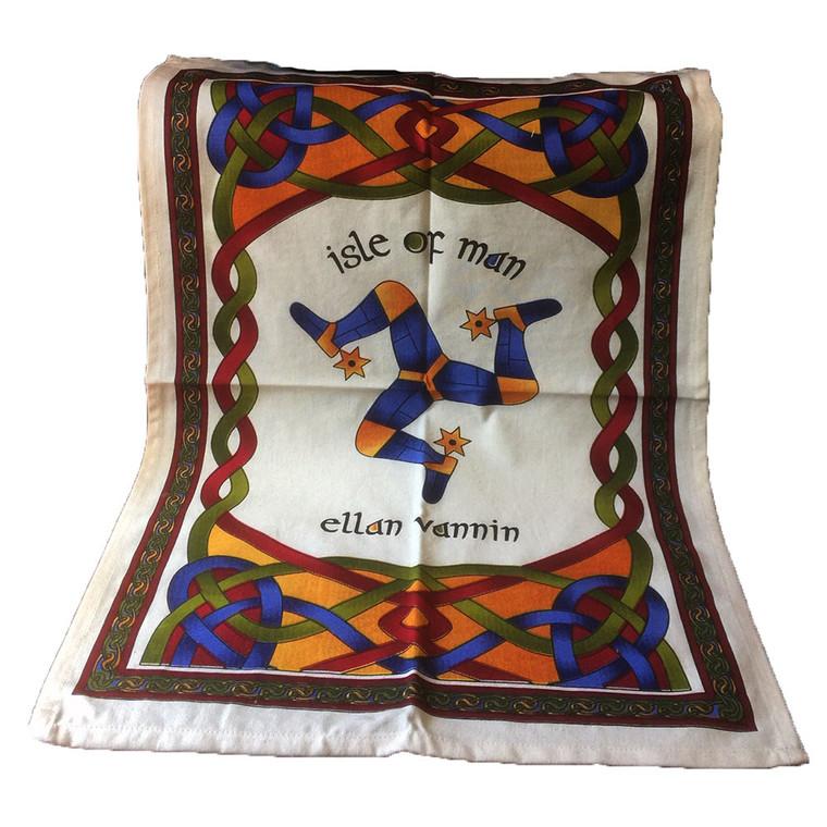 Isle of Man/Celtic Tea Towel