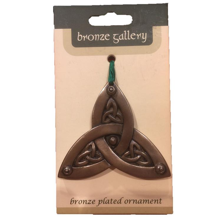 Bronze Effect, Hanging Celtic Knot