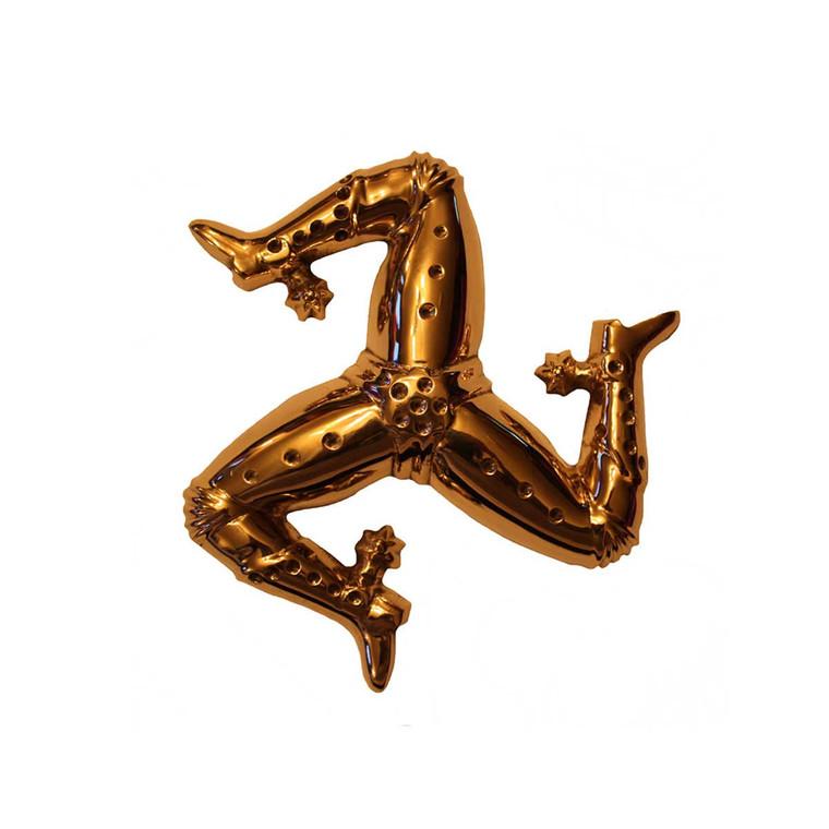 Brass 3 leg paperweight