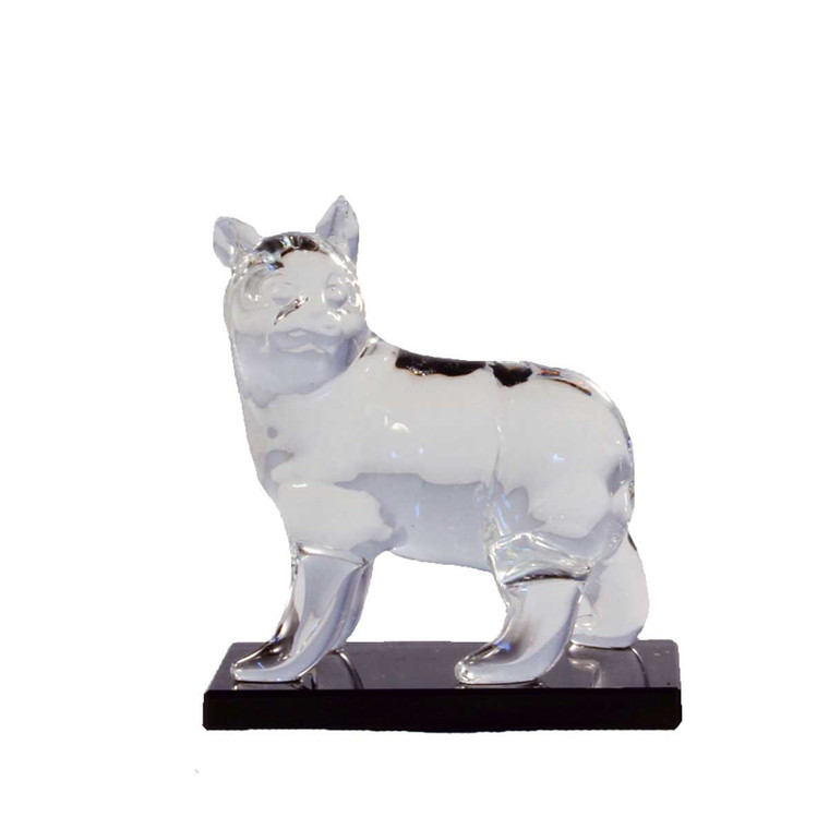 Small Glass Manx cat
