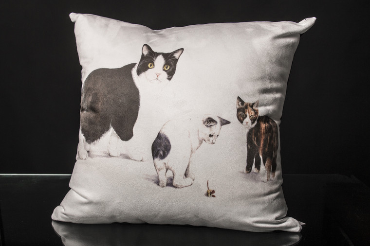 Manx Cat Cushion