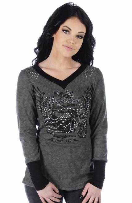 7295 Speed Master - Ladies USA Made Shirt