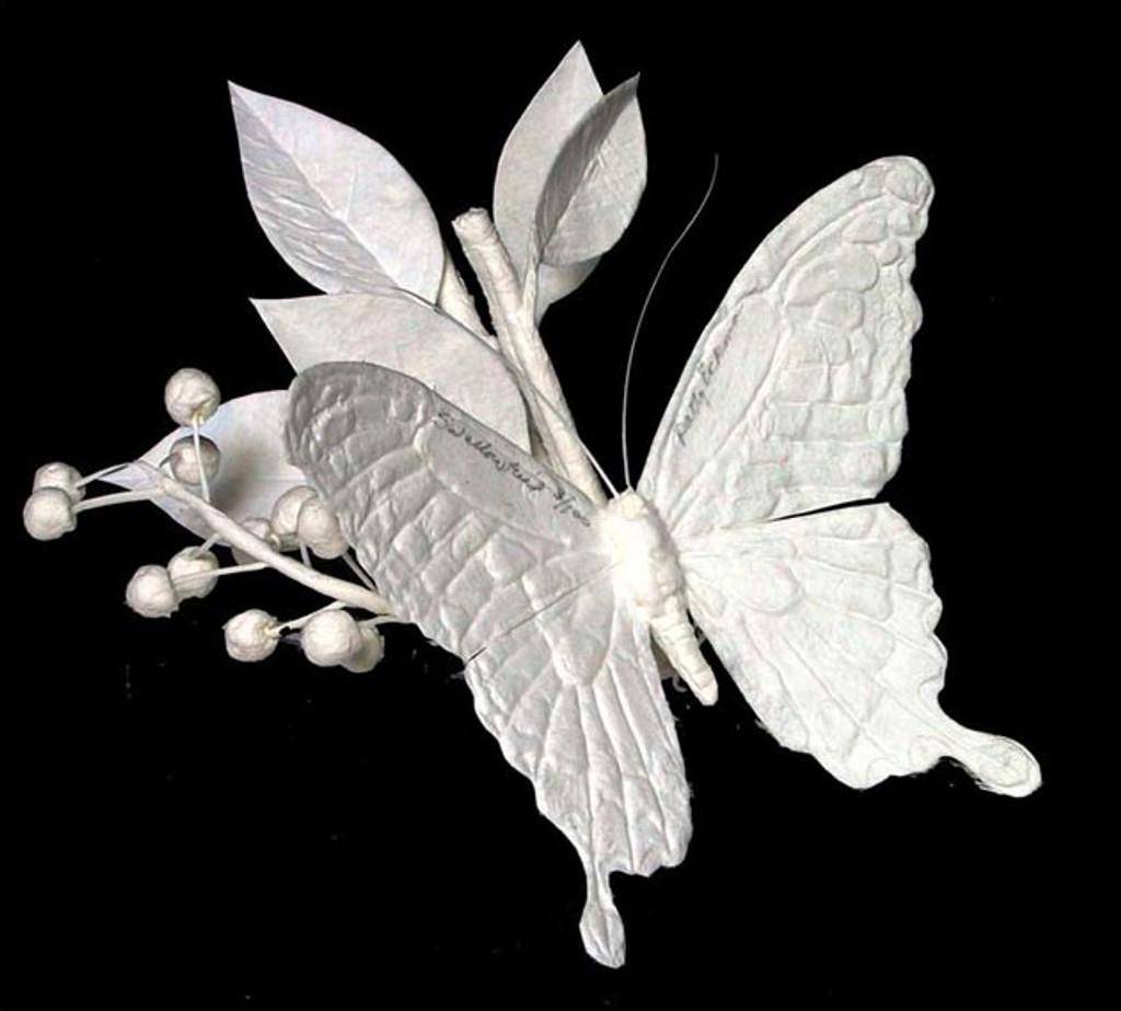 Swallowtail   Patty Eckman   cast paper sculpture