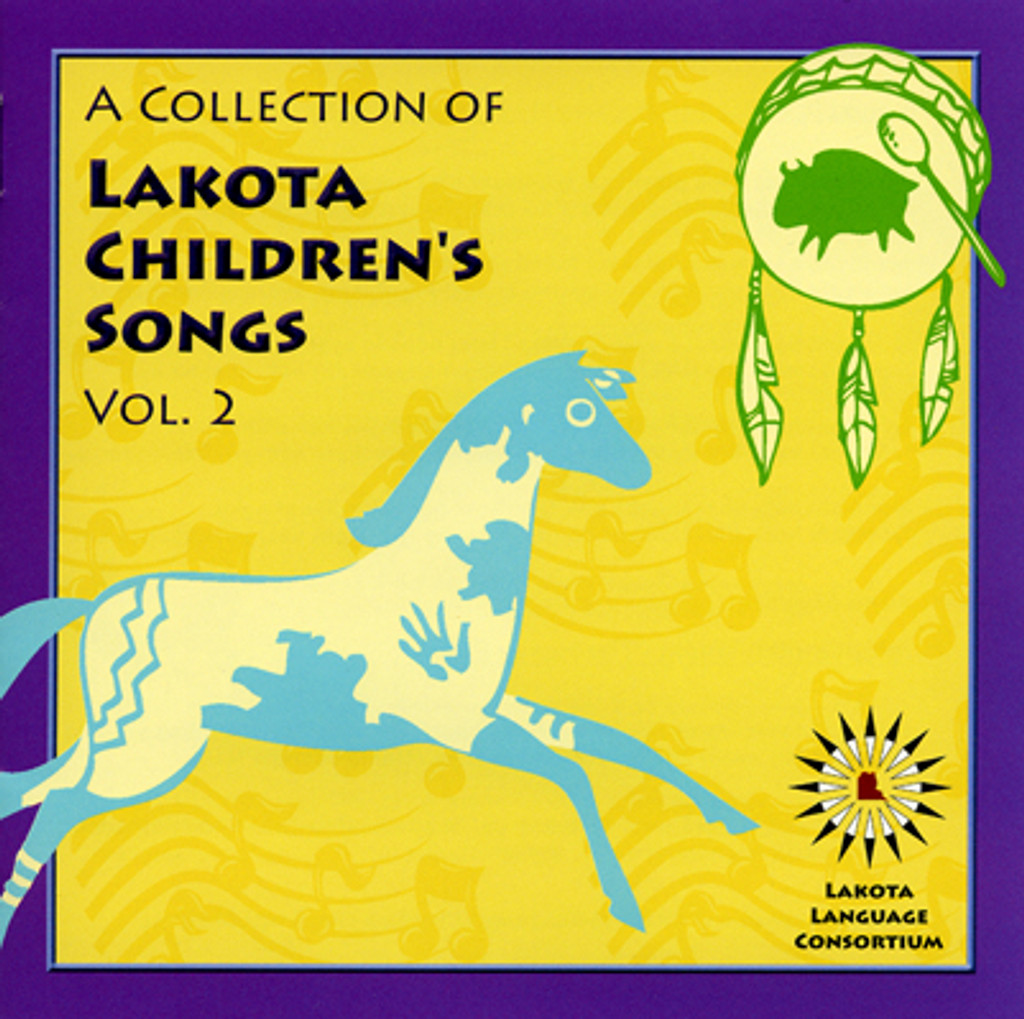 A Collection Of Lakota Children's Songs - Vol. 2 CD