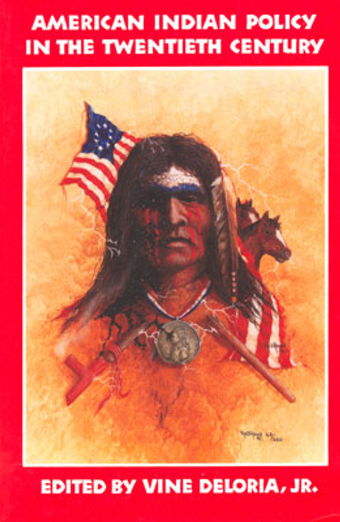 Book: American Indian Policy In The Twentieth Century
