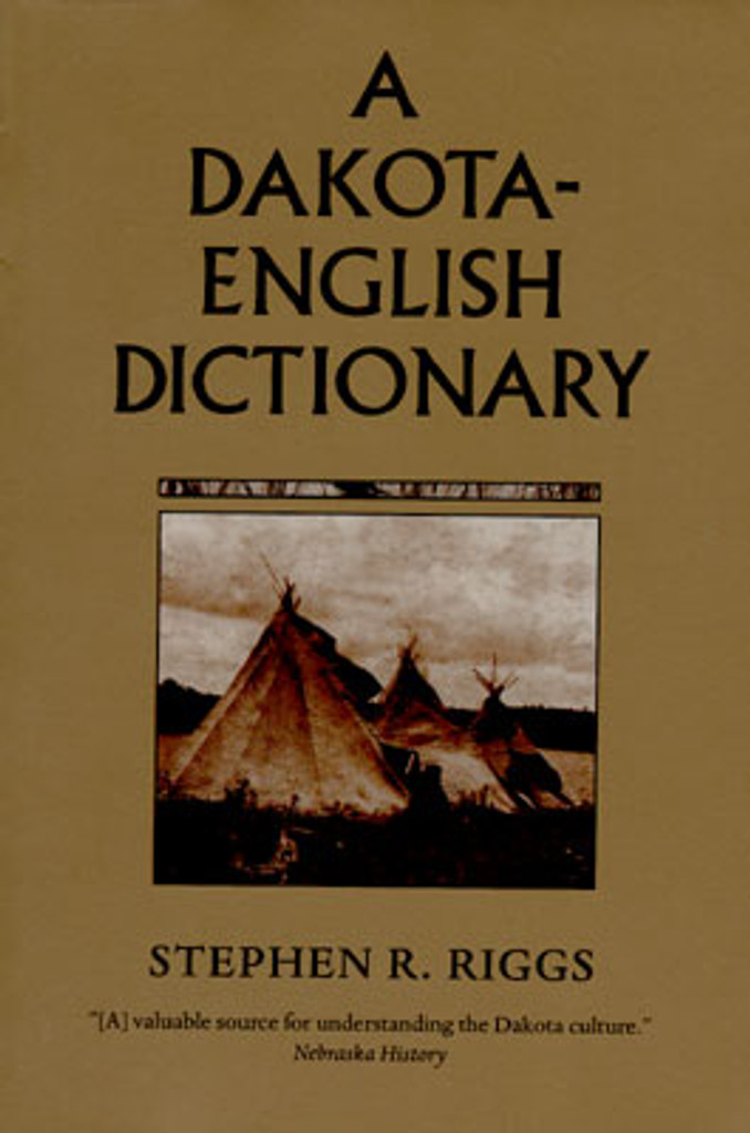 Book: A Dakota-English Dictionary