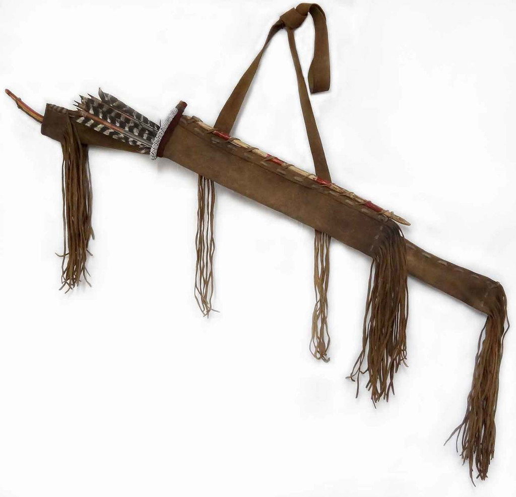 Plains Bow Cover & Arrow Quiver (set)