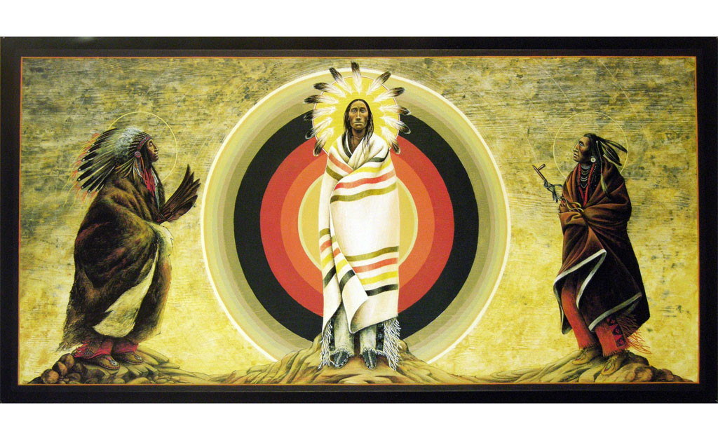 The Transfiguration of Jesus | Father John Giuliani | print