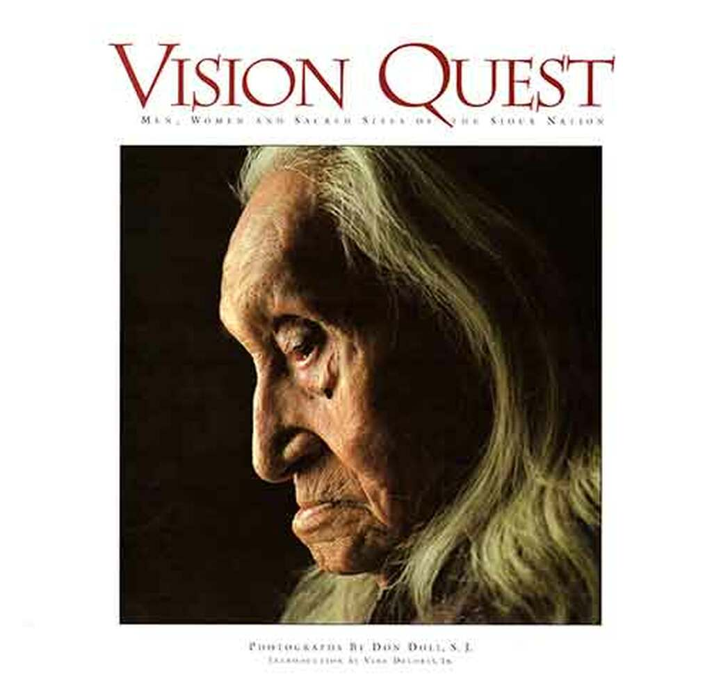 Out of Print Book - Vision Quest: Men, Women and Sacred Sites of the Sioux Nation