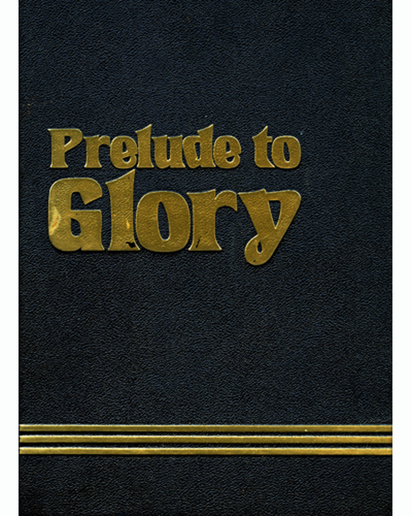 Out of Print Book - Prelude to Glory