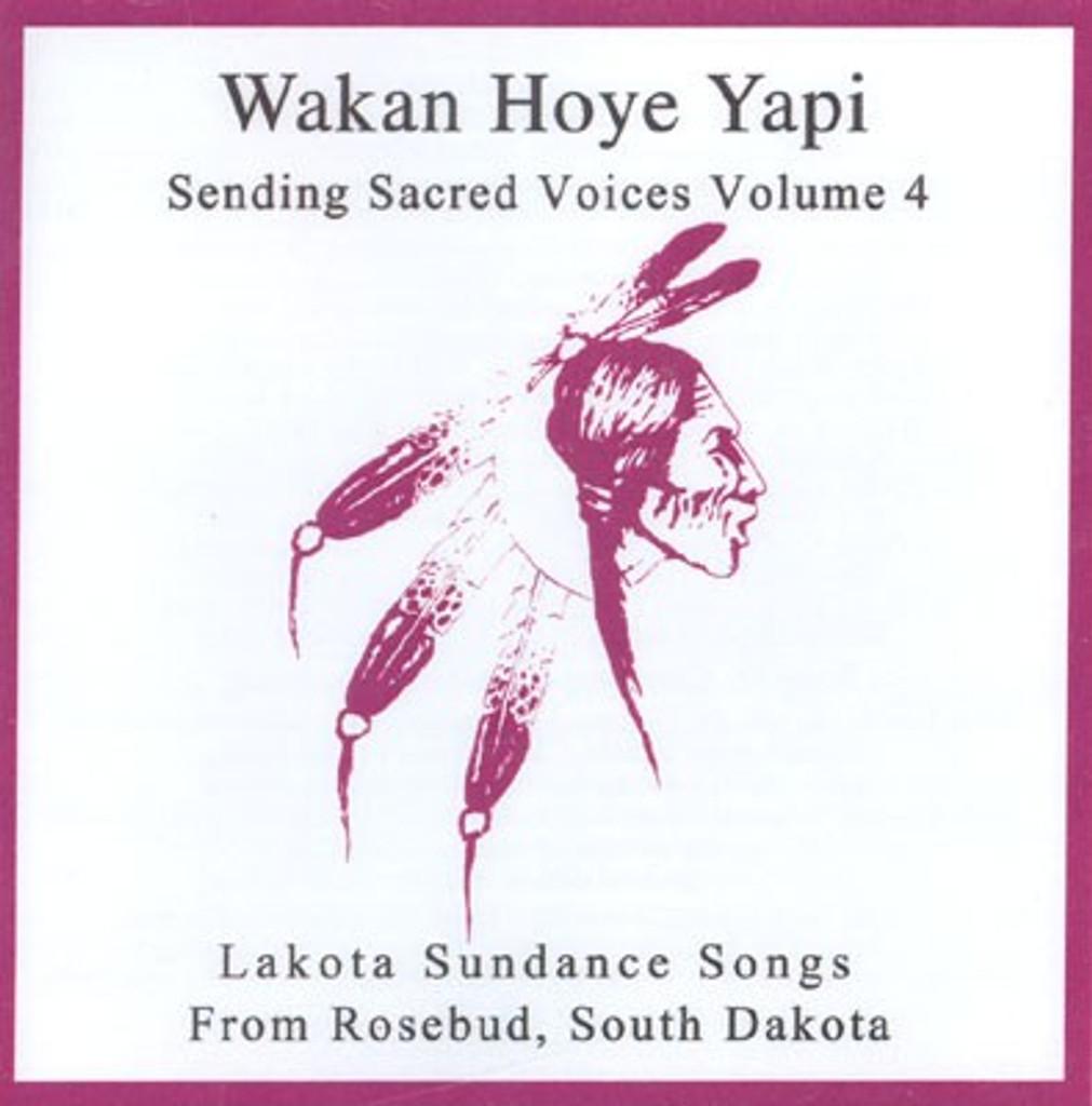CD Lakota Sundance Songs - Rosebud Singers - Wakan Hoye Yapi (Individual Volumes 1-8)