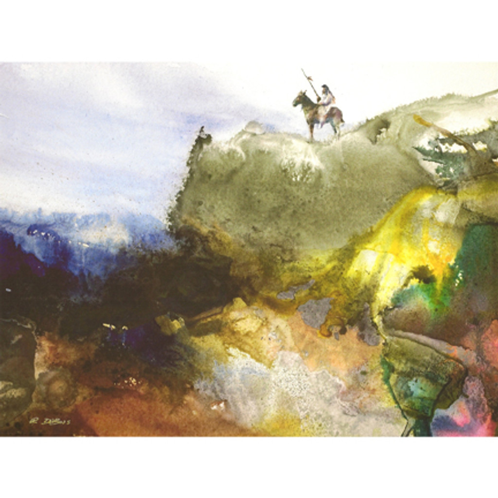 Canyon Paint - Richard DuBois - print