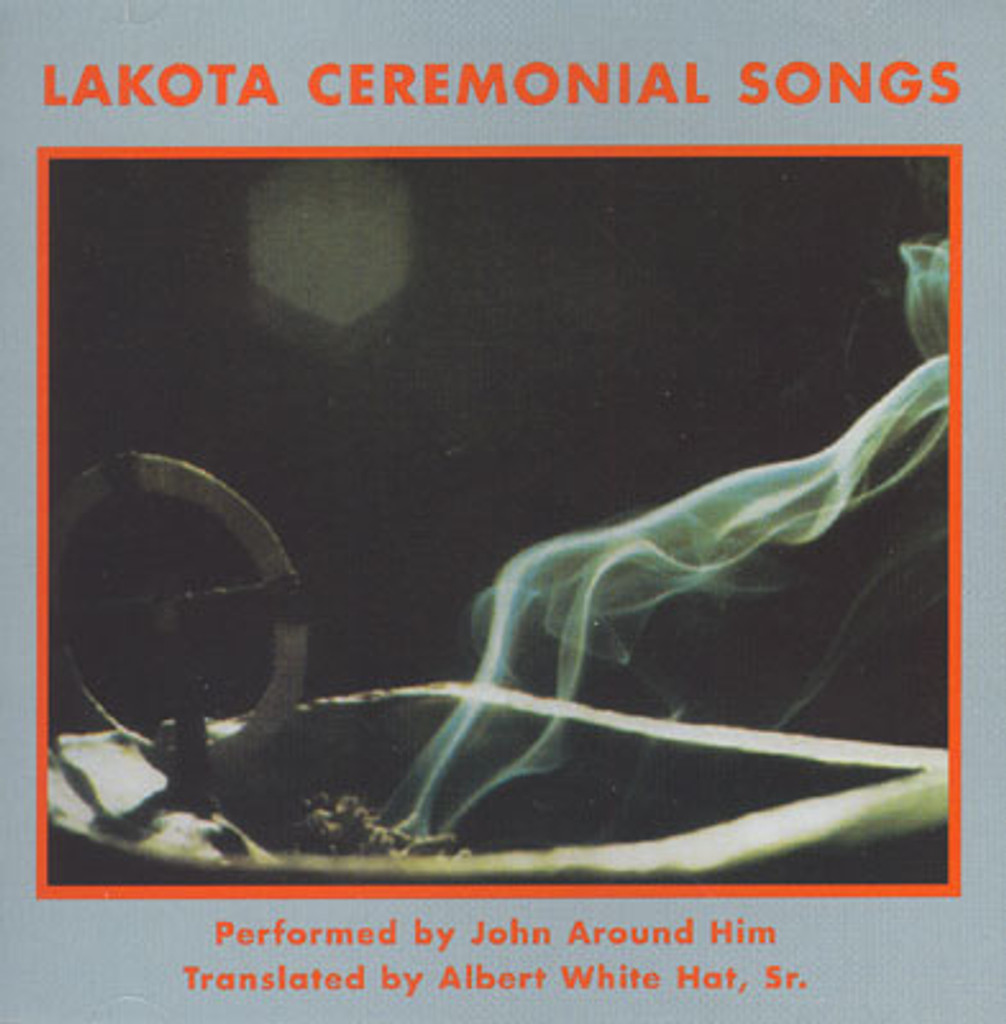 John Around Him - Lakota Ceremonial Songs CD & Book Set