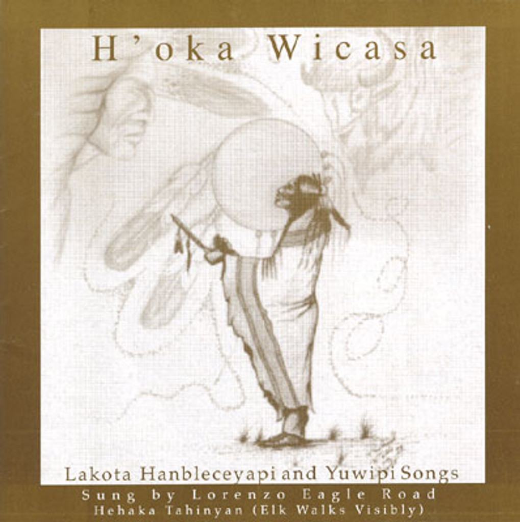 Lorenzo Eagle Road - H'oka Wicasa Ceremonial CD