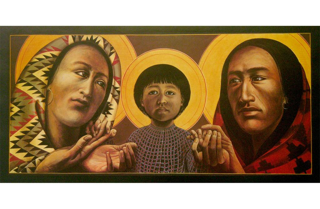 The Holy Family | Father John Giuliani | print
