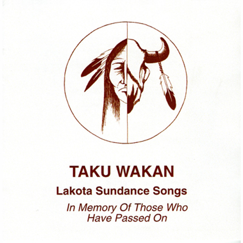 CD - Lorenzo Eagle Road - Taku Wakan - Lakota Sundance Songs