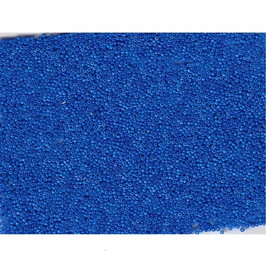 Venetian Blue 3 Opaline Glass Bead: Size 11/0