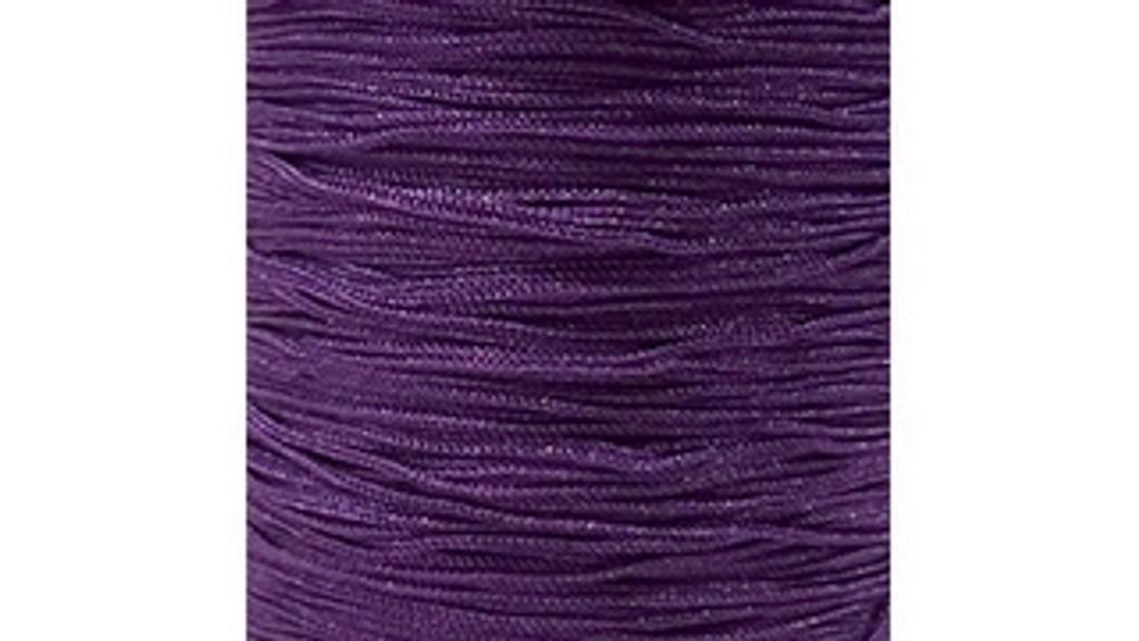 Chainette Fringe: Purple