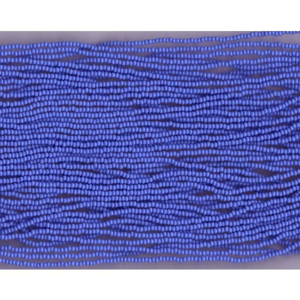 Czech Light Periwinkle Blue Opaque Glass Bead (252): 10/0