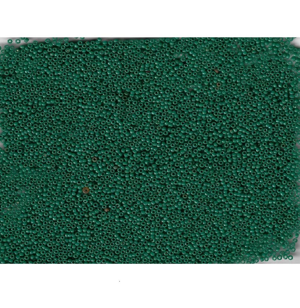Venetian Glass Beads Pine Green 4 Translucent: Size 11/0