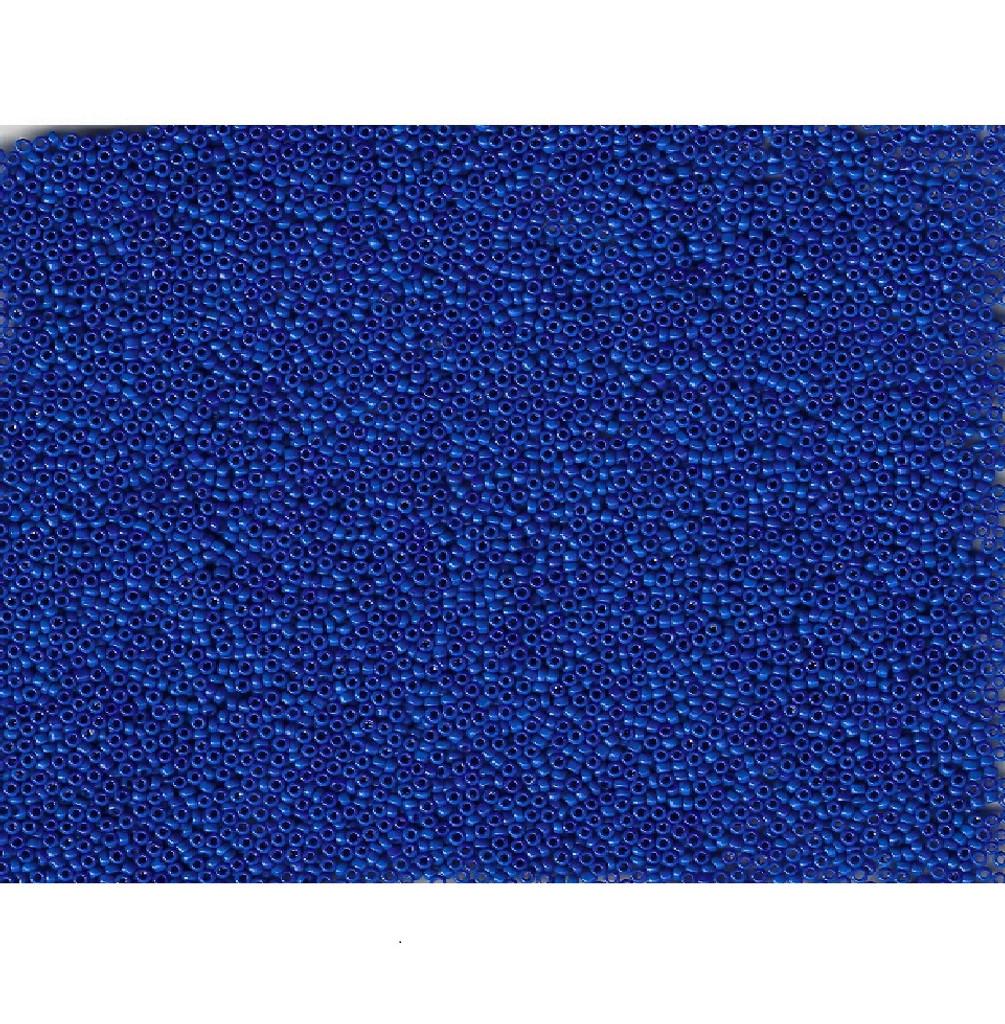 Venetian Navy Blue 2 Opaque Glass Bead: 11/0