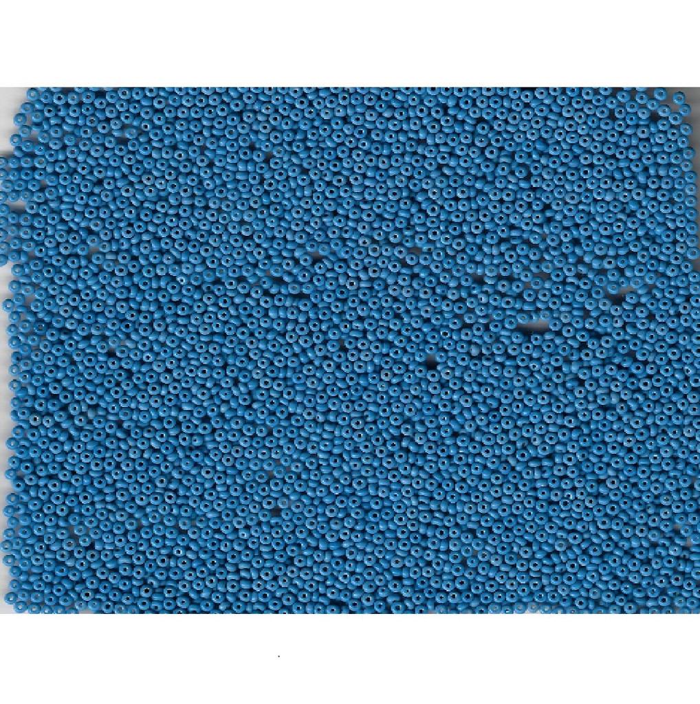 Venetian Glass Beads Sky Blue 3 Opaque: Size 11/0