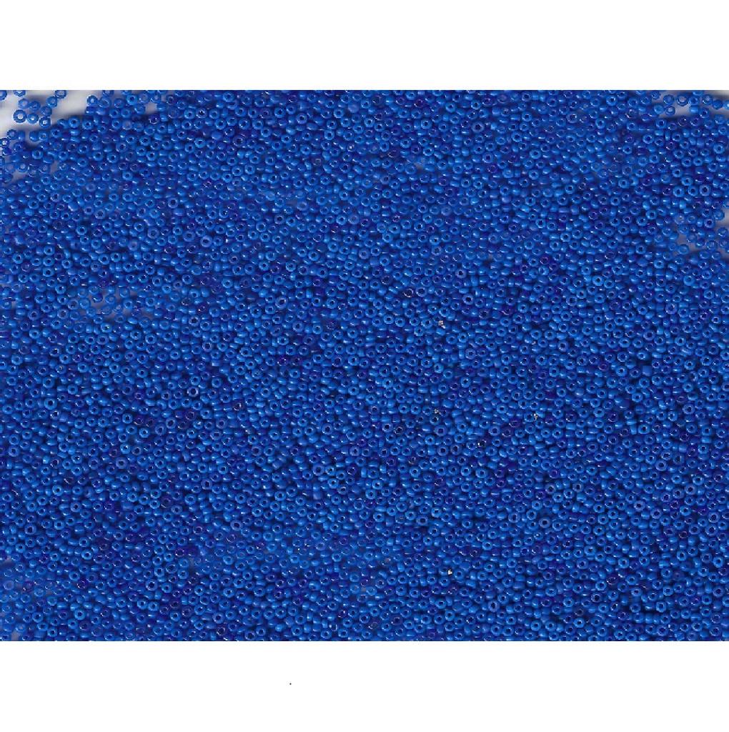 Venetian Blue 2 Opaline Glass Bead: Size 11/0