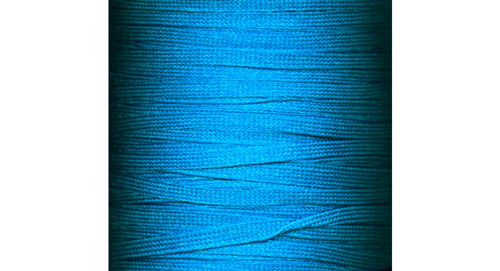 Flat Fringe: Pacific Blue