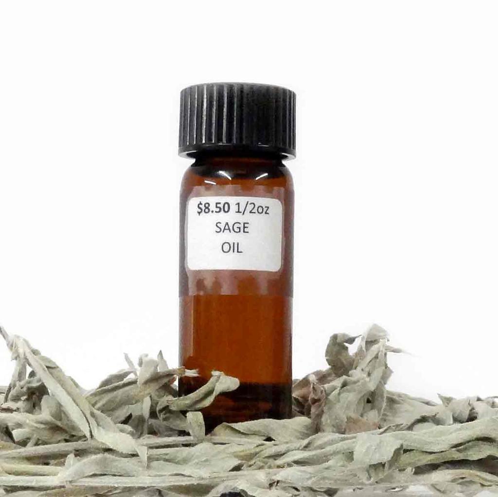 Sage Oil 1/2 Ounce