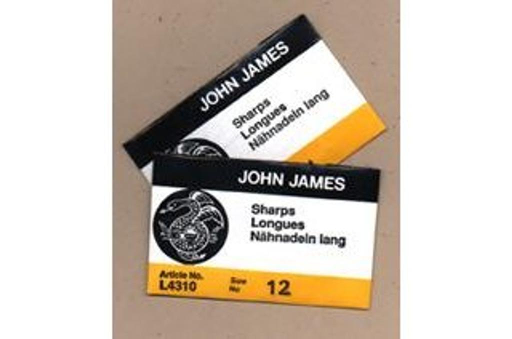 Sharps (Short) Needles