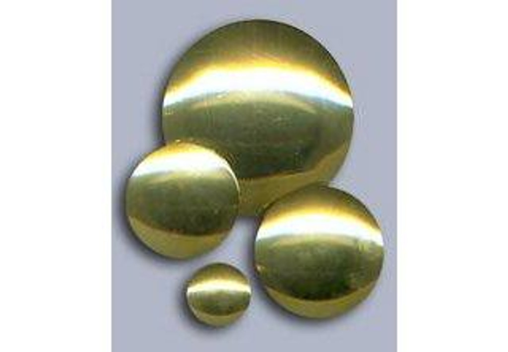 Polished Brass Conchos