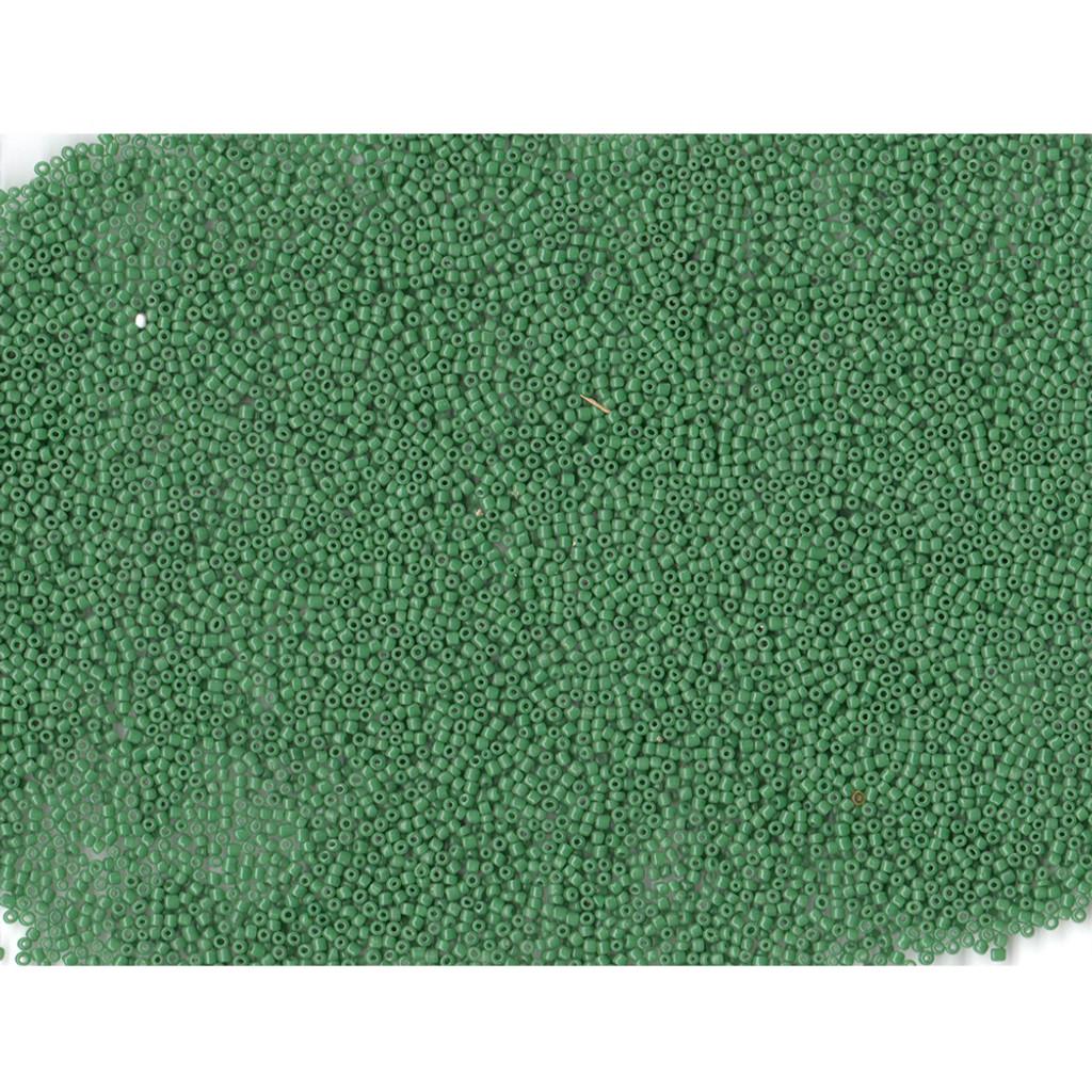 Venetian Glass Beads Green 6 Translucent: Size 12/0