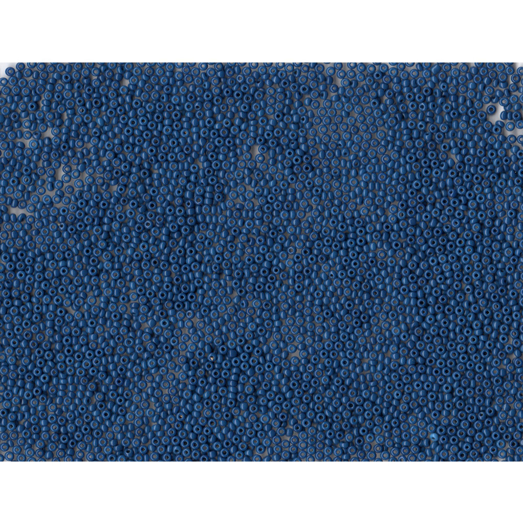 Venetian Glass Beads Midnight Blue 2 Opaque: Size 11/0