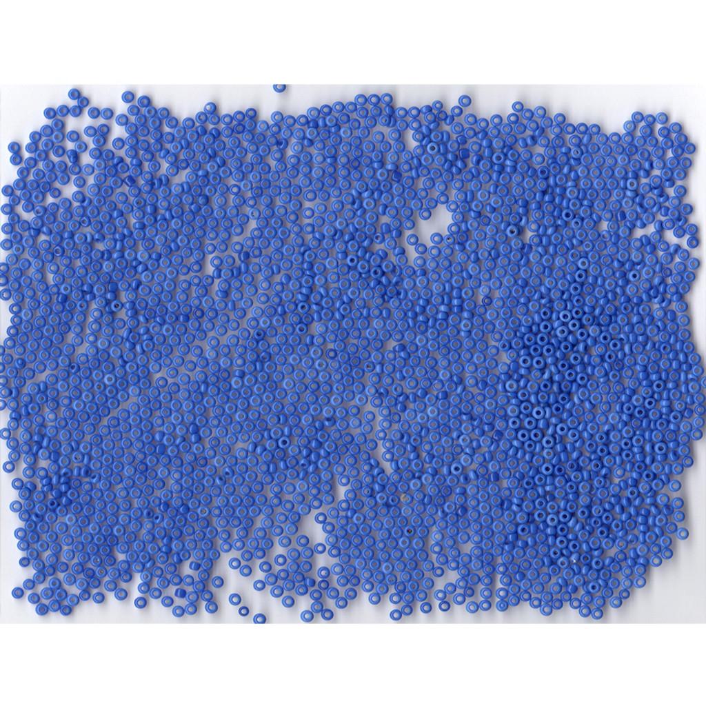 Venetian Blue 4 Opaline Glass Bead: Size 11/0